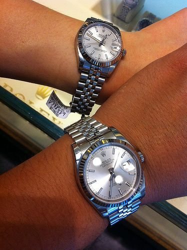 His and her Rolexwouldn\u0027t THAT be nice!