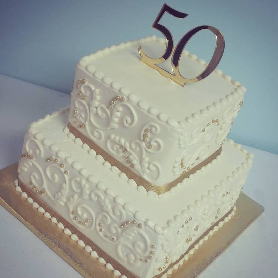 Image Result For 50 Th Anniversary Cakes