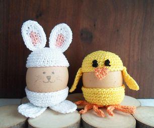 Cute Crochet Egg Holder by lindarose92