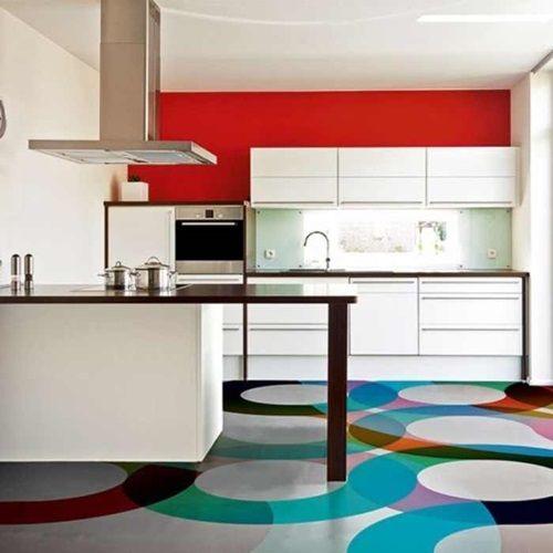 amazing vibrant and multi colored kitchen decorative ideas - Multi Kitchen Decorating