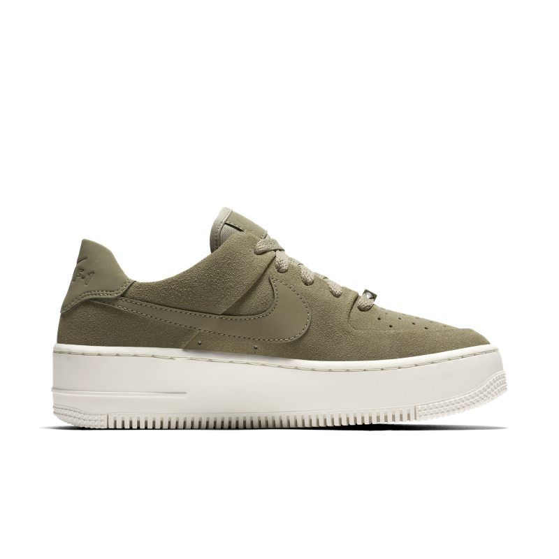 finest selection 374d7 49ae1 Nike Air Force 1 Sage Low Women s Shoe - Olive