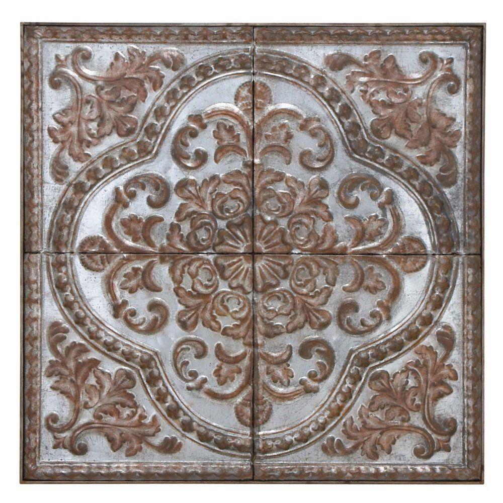 Uma enterprises metal wall sculpture copper u white enjoy the