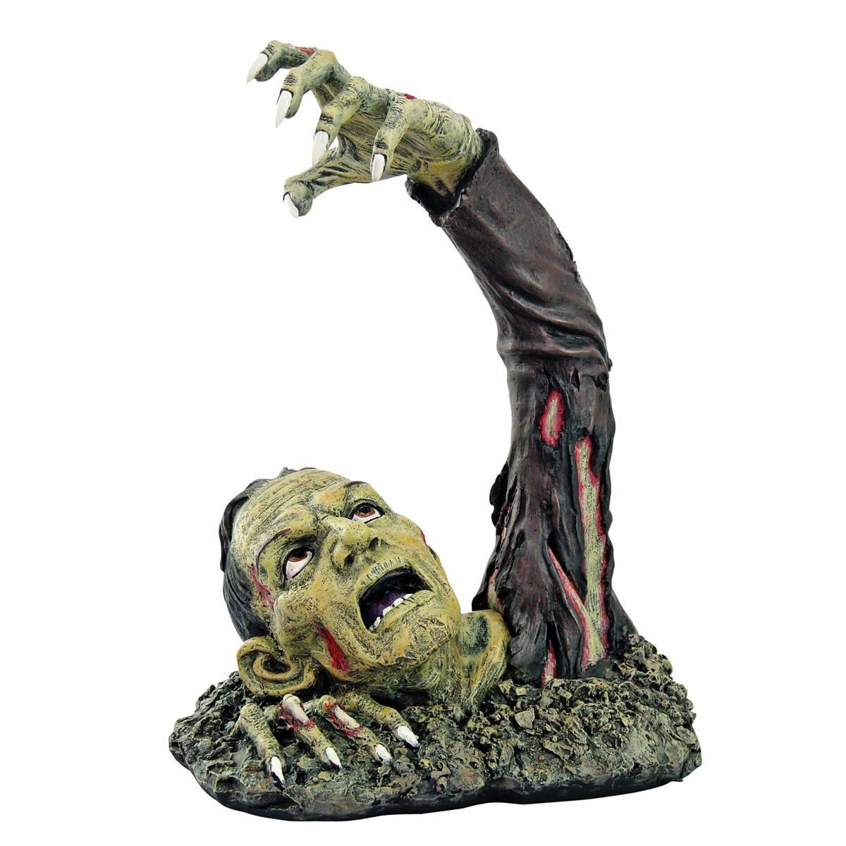 There halloween additions! Zombie Out Of Earth Garden