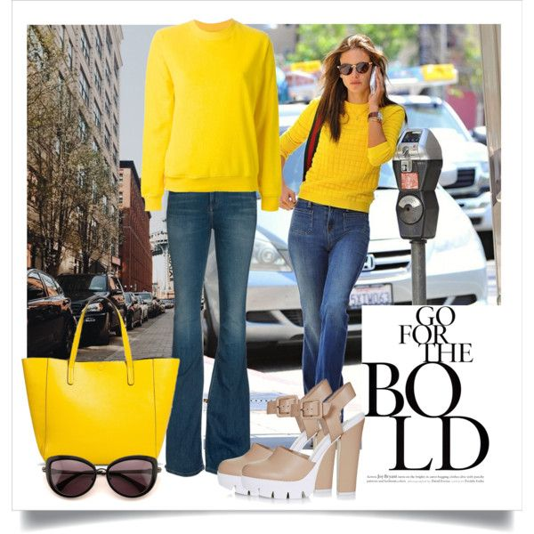 Go for the bold by alaria on Polyvore featuring Jour/Né, Citizens of Humanity and Wildfox