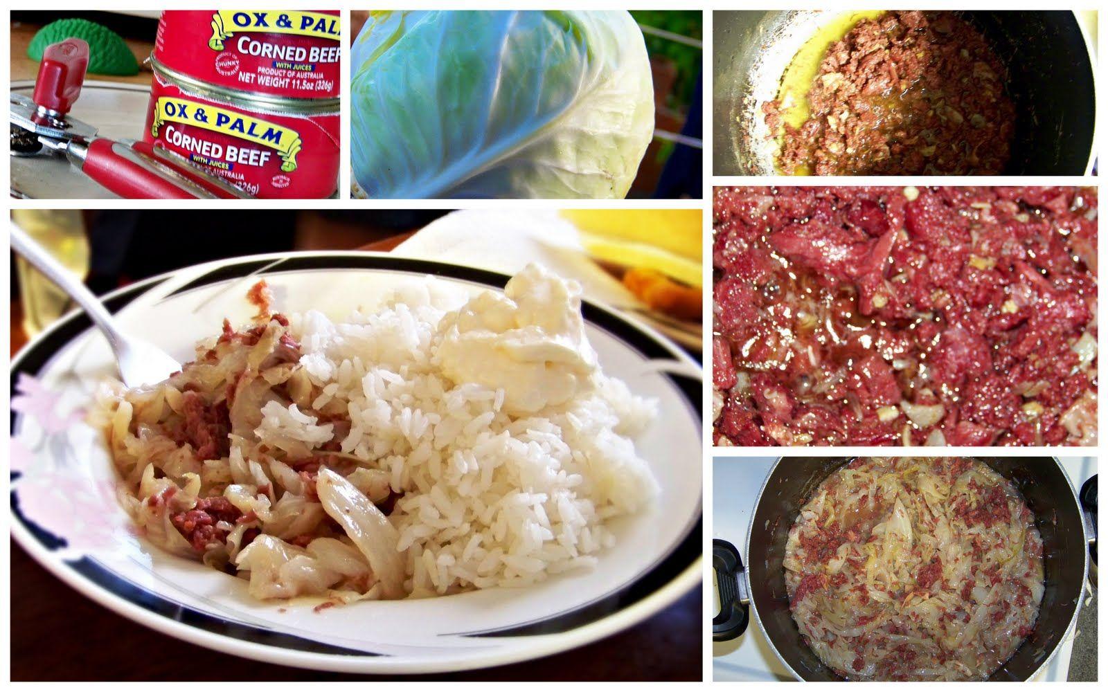 Pisupo & Kapisi (Corned Beef & Cabbage) | samoan | Pinterest