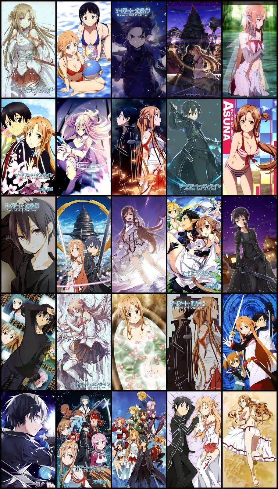 Sword Art Online Wallpaper Pack For Mobile Phone (Part 02