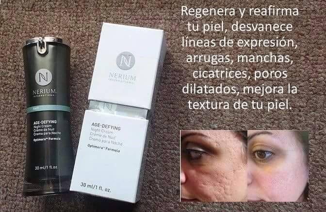 Regenera tu piel con Nerium http://beautyskin1.nerium.com.mx