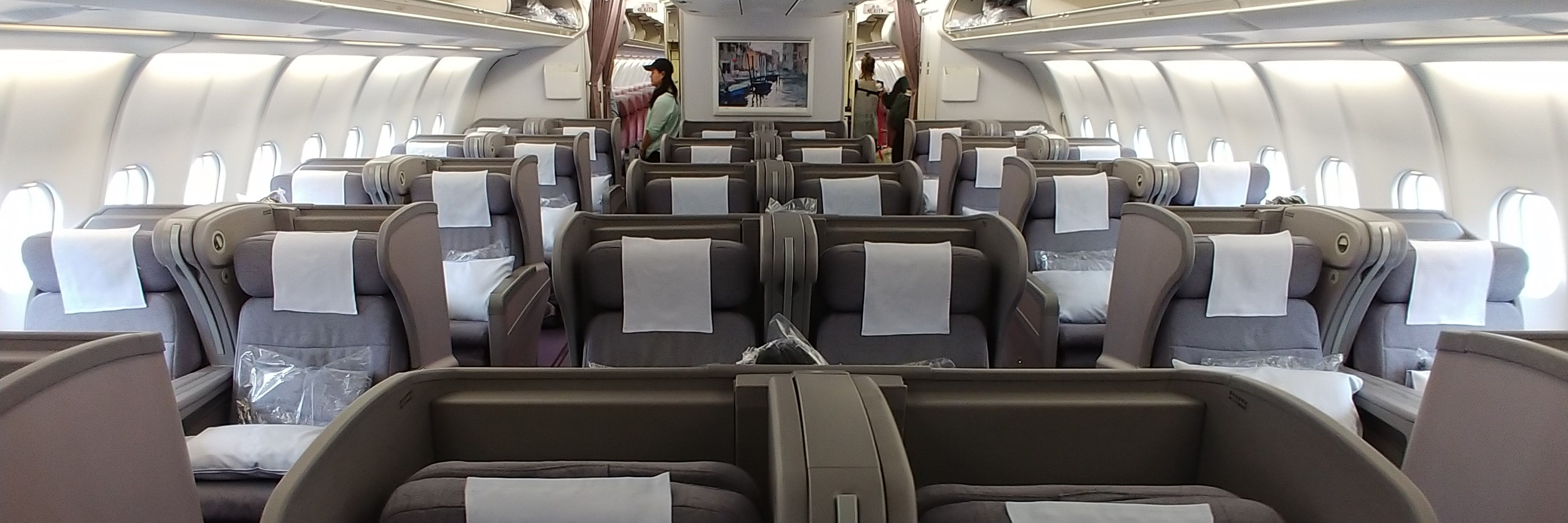 China Airlines A330300 Business Class Flight Review TPE