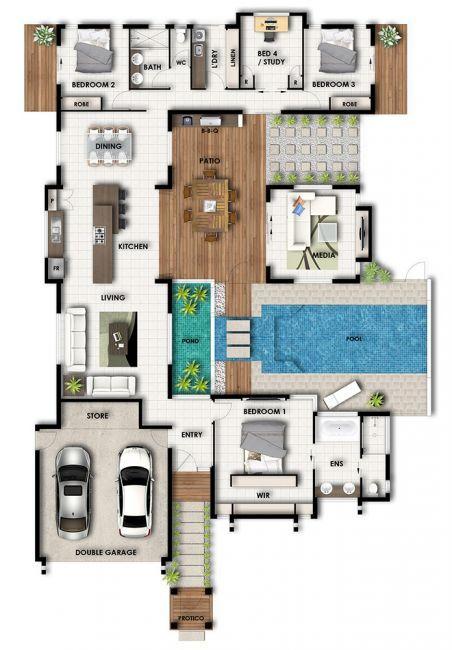 Floorplan also floor plans pinterest house architecture and villas rh in