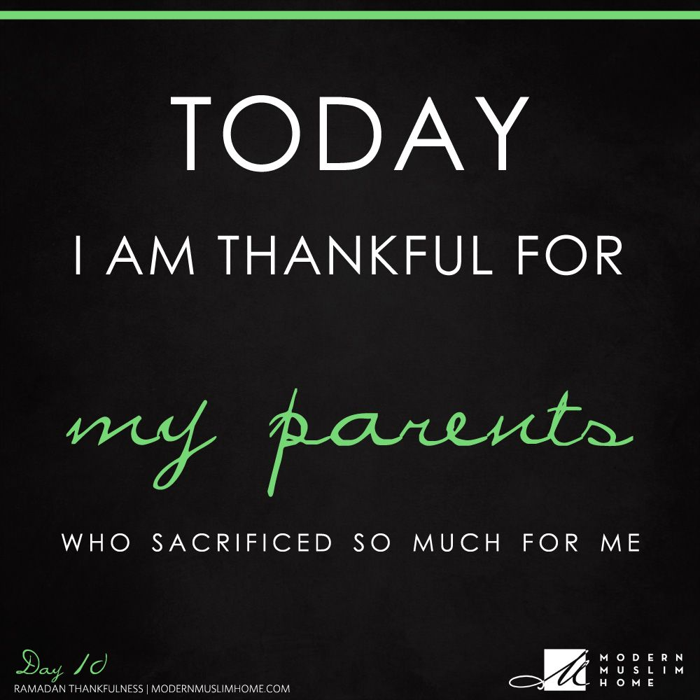 Quotes On Blessings Of Parents