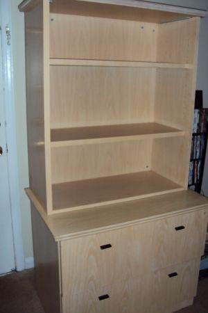 Nice Birch Vaneer Cabinet, no room for it ($20!) - $20 ...
