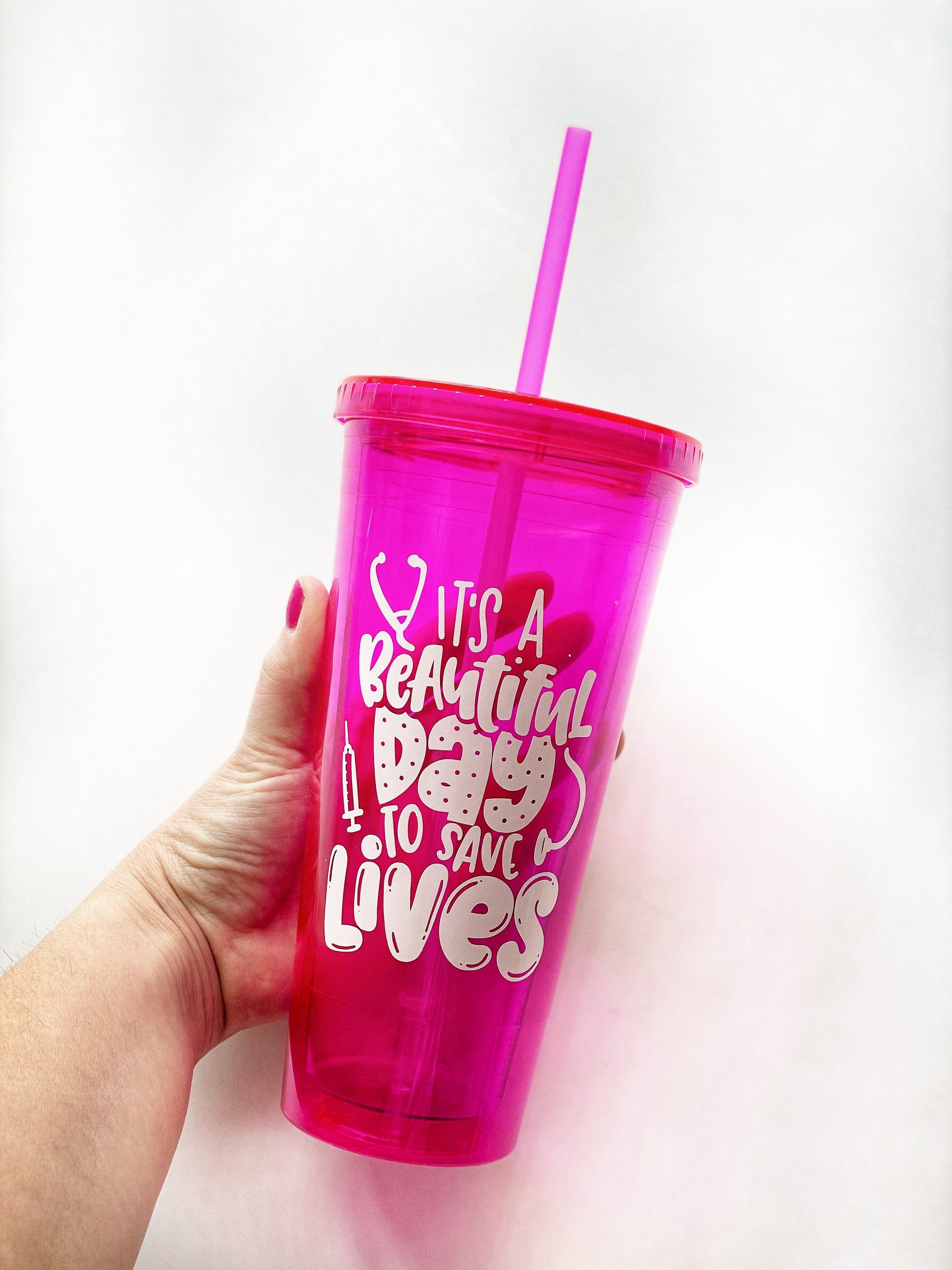 Its a great day to save lives nurse appreciation cup