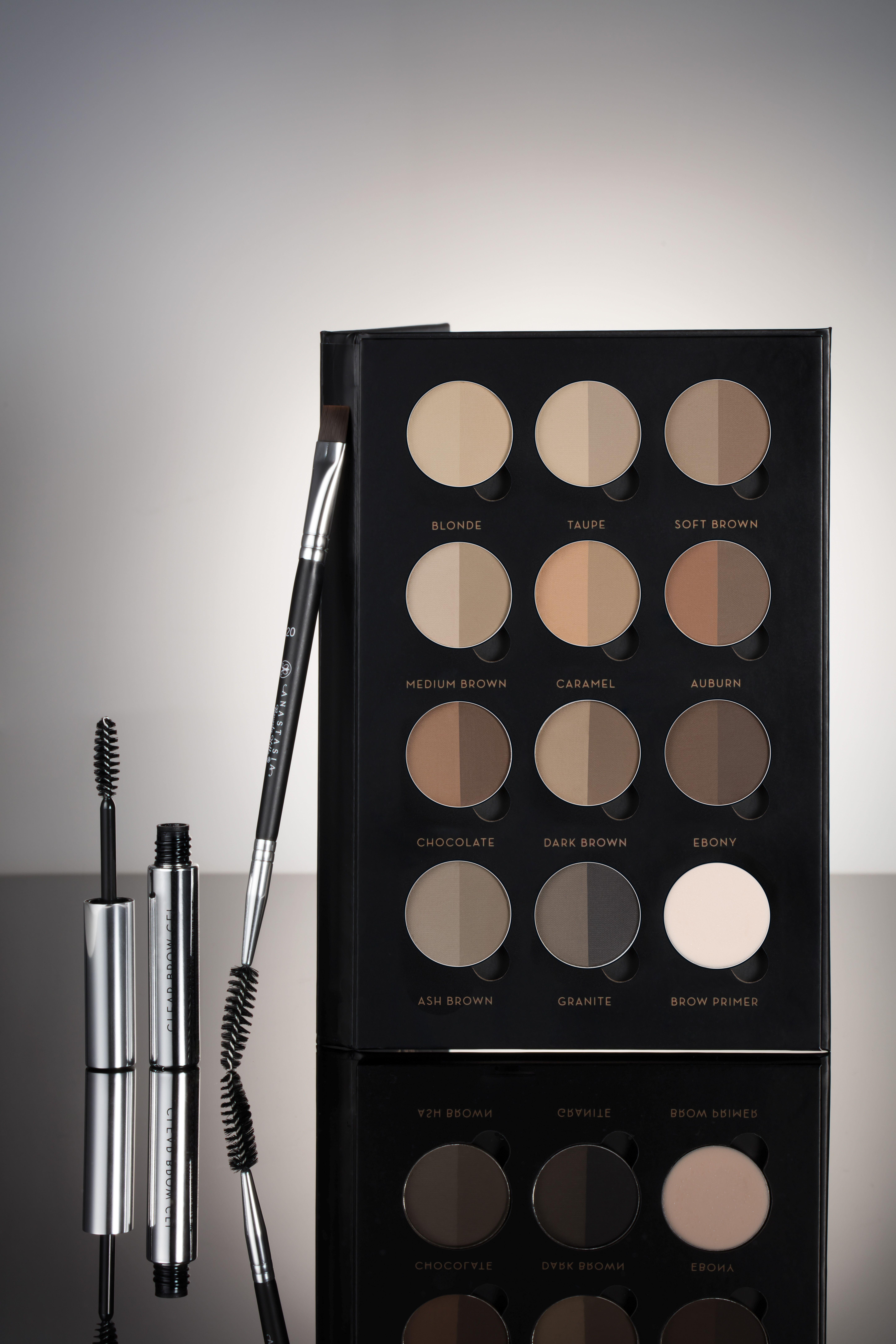 Brow Pro Palette Eyebrow Powder, Primer Makeup