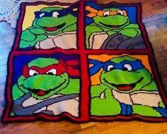 Crochet Teenage Mutant Ninja Turtle by CrystalCrochetCrafts, $169.99