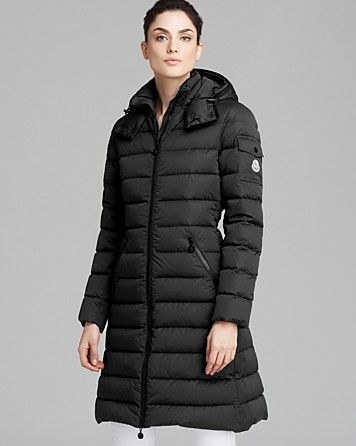 Moncler Coat - Mokamat Mid-length Down | Bloomingdale's