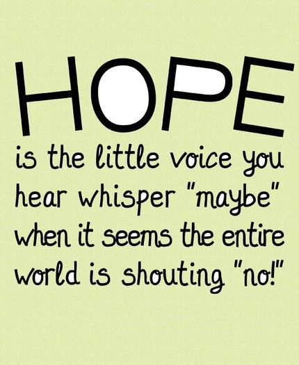 Hopeful Quotes Quotes On Hope 2  Hopeful Quotes  Pinterest  Wisdom Thoughts