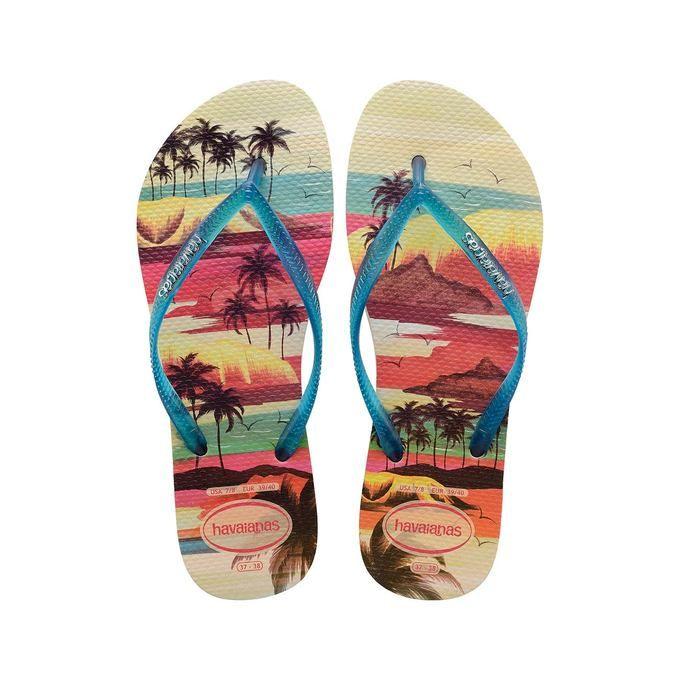 Flip Flops Havaianas Slim Paisage for women