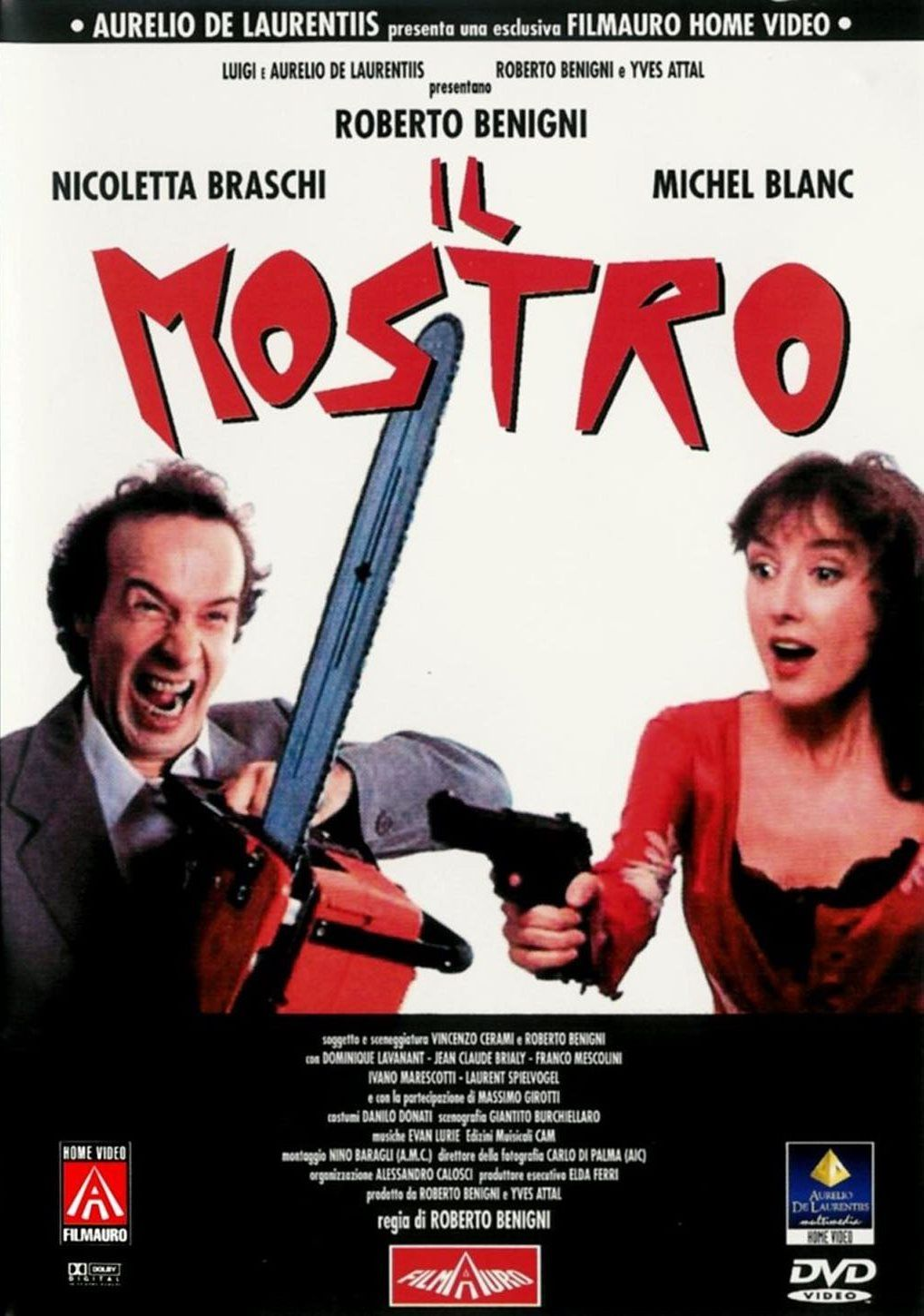 Il Mostro Italian Movie Posters About Time Movie Film