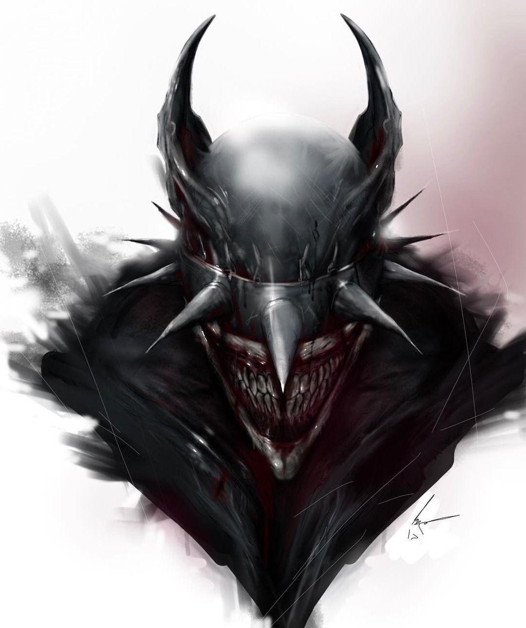 The Batman Who Laughs By Mj Hiblen