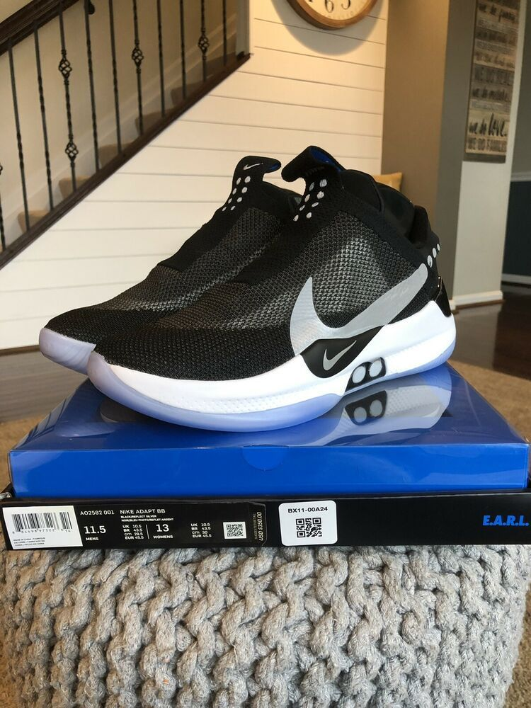official photos 6a353 e7a25 Nike Adapt BB Black Size 11.5 EARL Self Lacing Brand New DEADSTOCK  fashion   clothing  shoes  accessories  mensshoes  athleticshoes (ebay link)