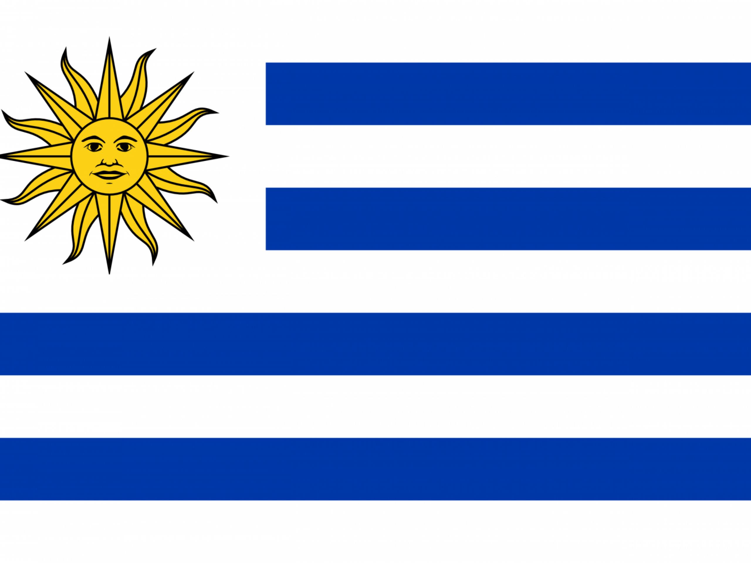 Uruguay Flag Strips Mean Nine Provinces At Time Of Liberation White Means Peace Honesty Blue Means The Sky And The Blue Flags Of The World Uruguay Flag Flag