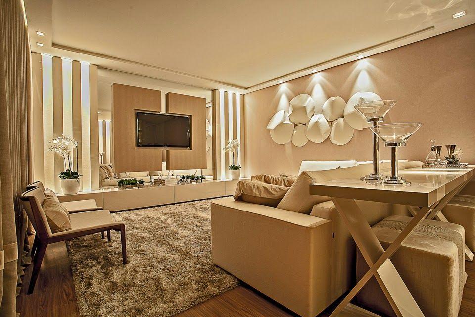 Pain is para tv veja modelos salas lindas salas - Paredes decoradas modernas ...