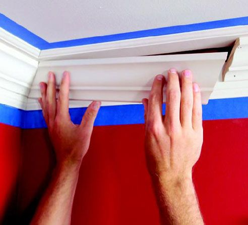 How To Install Crown Molding: Three Piece Design