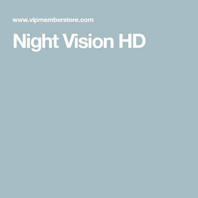 Night Vision HD