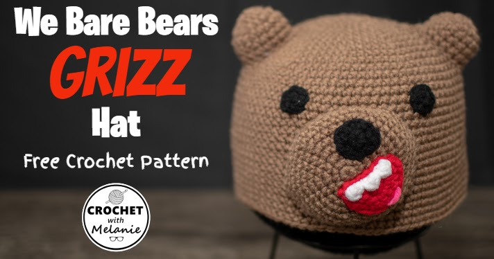 PDF PATTERN : We Bare Bears Pattern, We Bare Bears Amigurumi ...   374x712