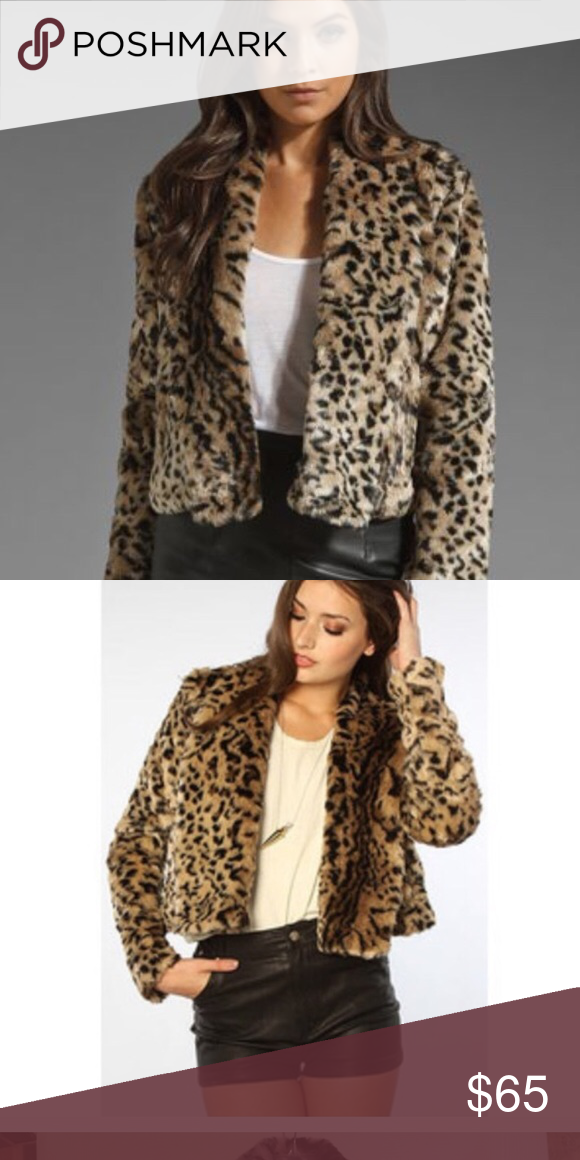 53ef7cefe621 Jack By BB Dakota Leopard Coat BNWT, gorgeous fit!!!! A must have this fall  season!!! Brand new, leopard coat! Jack by BB Dakota Jackets & Coats