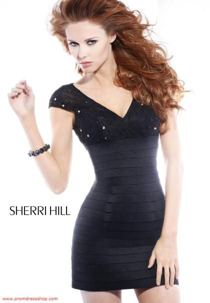 Sherri Hill Short Dresses at Prom Dress Shop. | Prom, Homecoming and ...