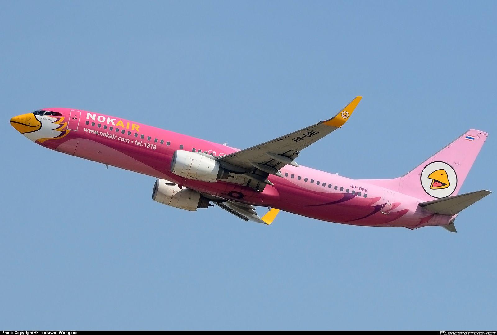 Nok Air Boeing 737-800 | Luftfahrt - Flugzeuge - Airports ...