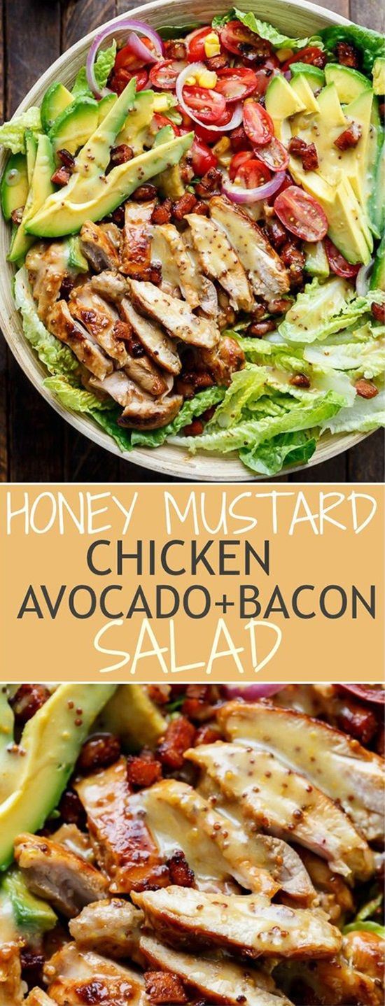30 Delicious Salad Recipes You Need To Try is part of Food - It's always a nice thing to add a salad dish to your meal  Salads usually are made of healthy ingredients, and they are also easy to prepare in no time  The most amazing thing in salads that there are many types of them, each salad type has different ingredients than the other types, which gives you the ability to choose the salad type which suits your main dish, so you have a nice complete meal for you and your guests  The following is a list of most delicious salad recipes that I've collected for you, so enjoy these 30 recipes and pick one salad to have it at dinner tonight