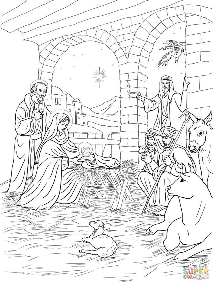 14192175 1045411525578836 2039248849793209944 N Jesus Coloring Pages Nativity Coloring Pages Christmas Coloring Pages