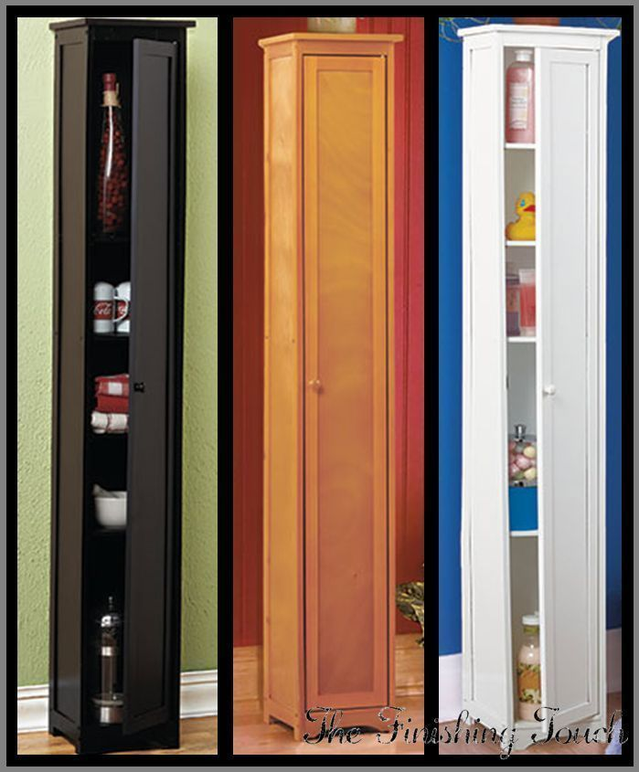 narrow skinny tall wooden cabinet storage shelves wood pantry rh pinterest com au