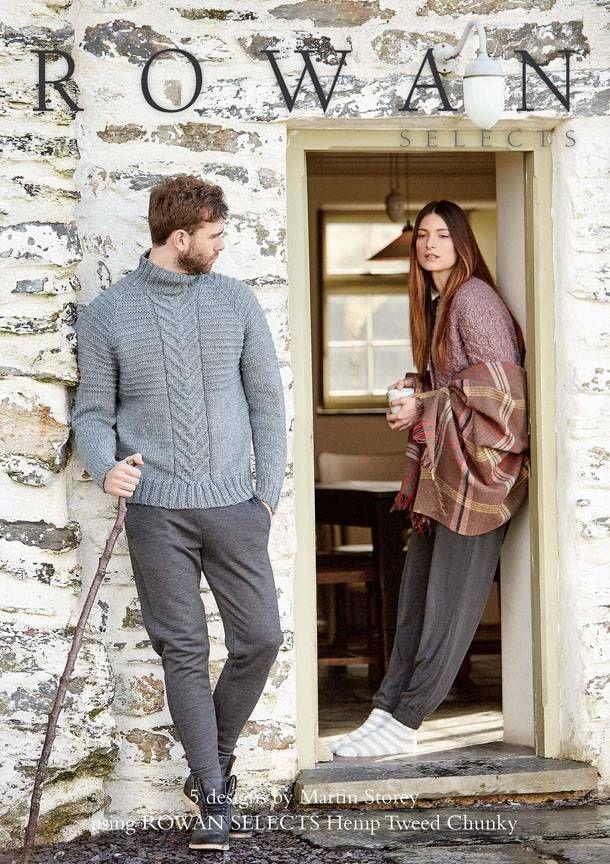 Rowan Selects Hemp Tweed Chunky, gratis bij minimaal 7 bollen Hemp Tweed Chunky!