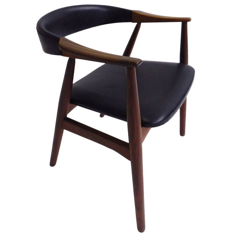 Desk chair in the style of Torborn Afdal