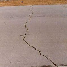 Fresh Crack In Basement Floor
