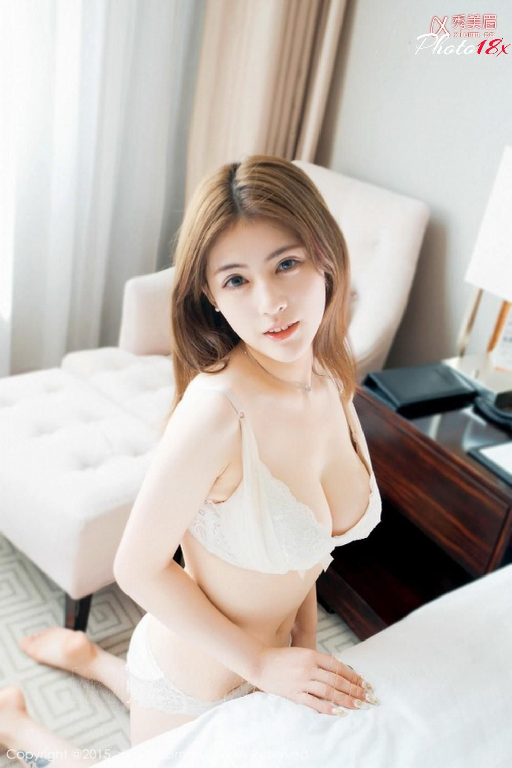 panty Asian no bra white