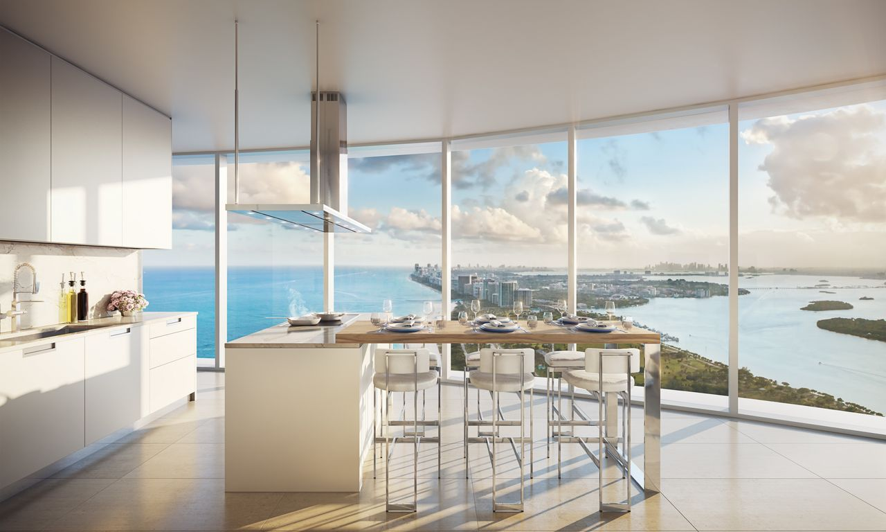 Full-Floor Penthouse at the Ritz-Carlton Residences in Sunny Isles Beach,  Florida, Sells for $21 Millio… in 2020   Luxury homes, Luxury apartments  interior, Miami apartment