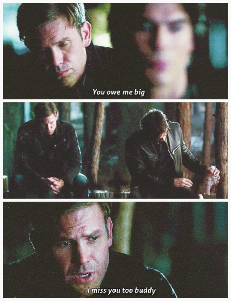 Dalaric - The Vampire Diaries. I think my heart actually broke during this scene