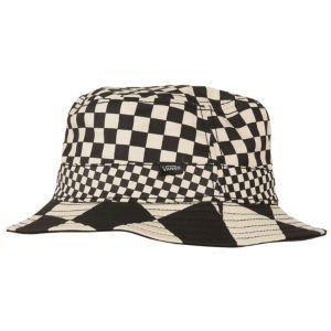 542ecb32bd30f Vans Checker Bucket Hat - Men s - Checker Black