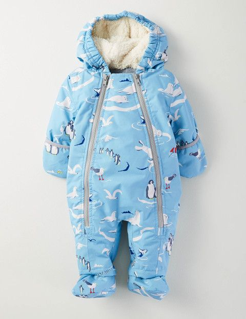b189b151f Boys Snowsuit 75040 All-In-Ones at Boden | little ones. | Baby boy ...