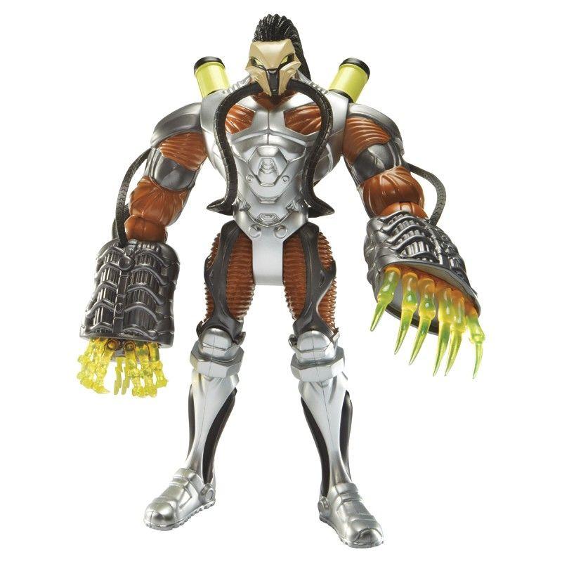 Max Steel Toys R Us : Max steel toxzon início terror toxico