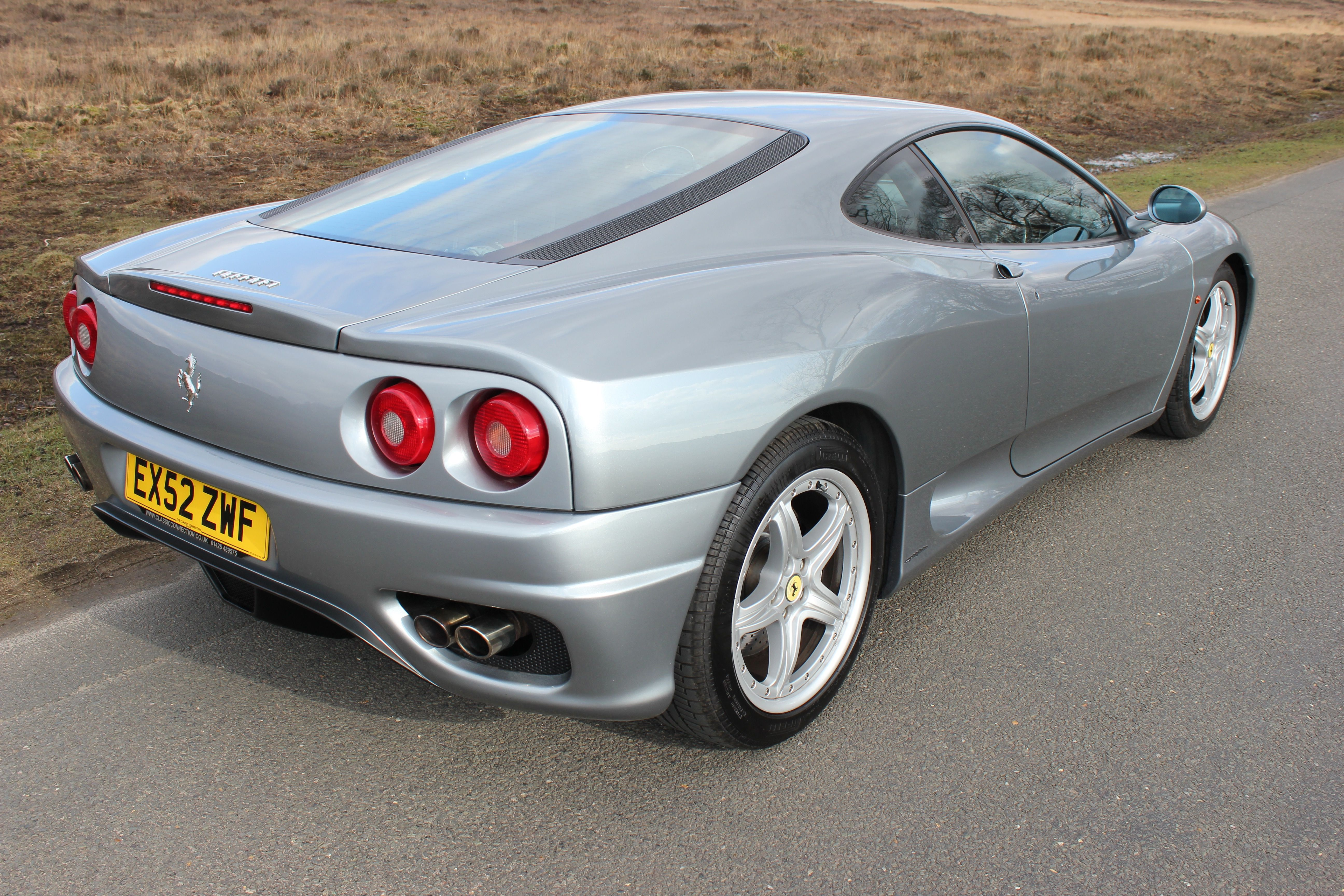 Ferrari 360 Modena F1 2002 Grigio Titanio With Full Nero Interior