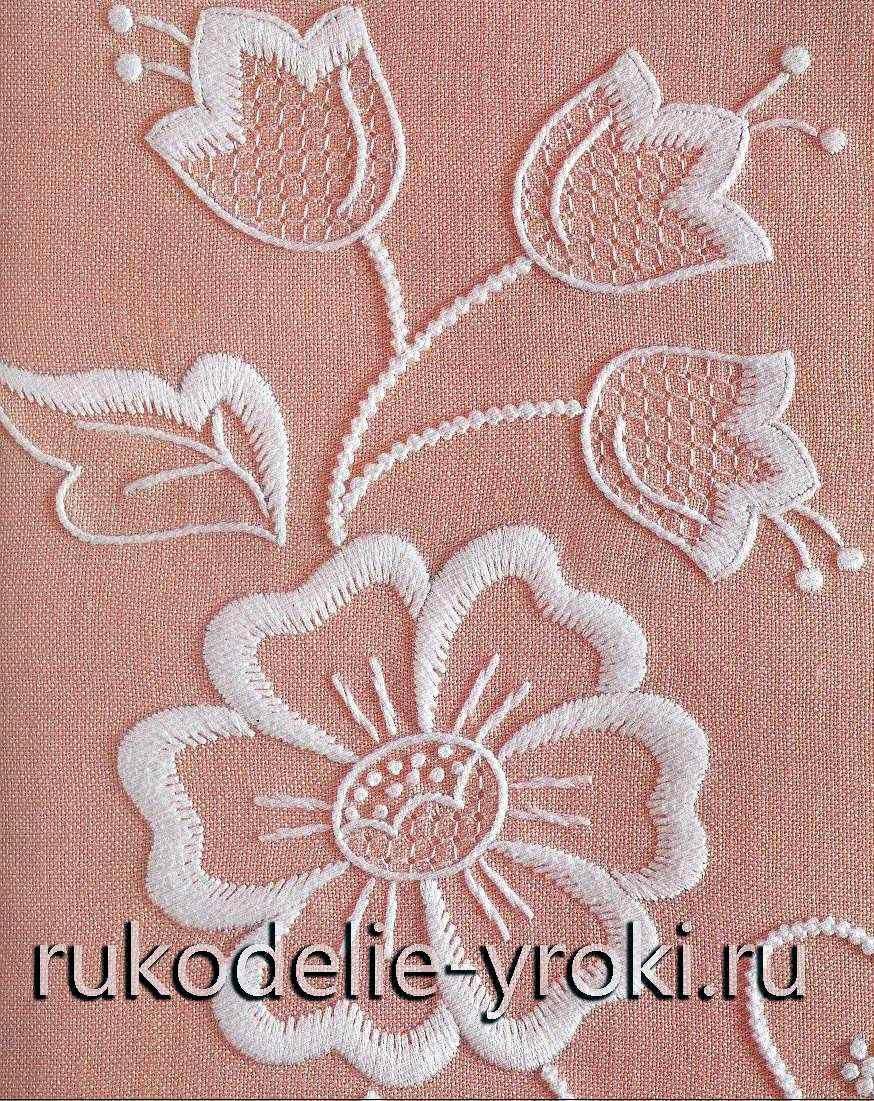 Уроки по вышивке bordados pinterest embroidery hand