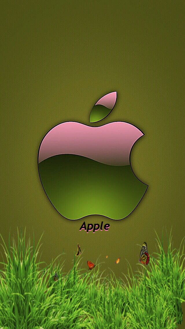 Green And Pink Apple Apple Wallpaper Apple Logo Wallpaper Iphone Iphone Wallpaper