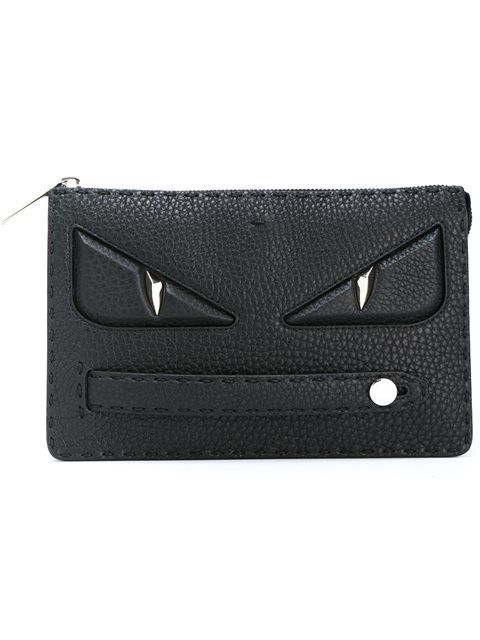 efd82161b4f0 FENDI Bag Bugs clutch.  fendi  bags  shoulder bags  clutch  leather  hand  bags