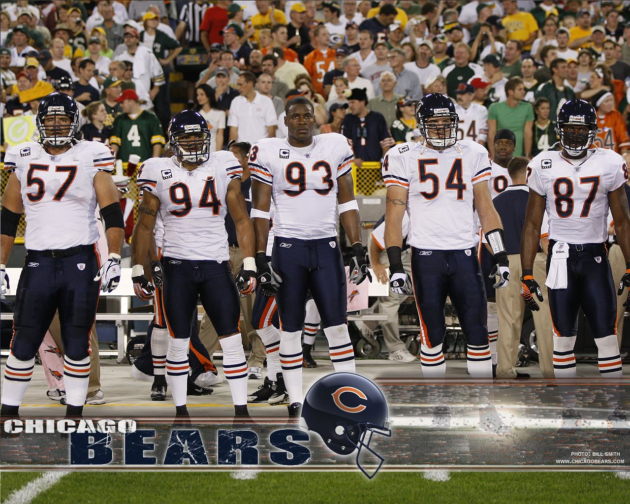 Chicago Bears Linemen Chicago Bears Football Chicago Bears Wallpaper Chicago Sports Teams