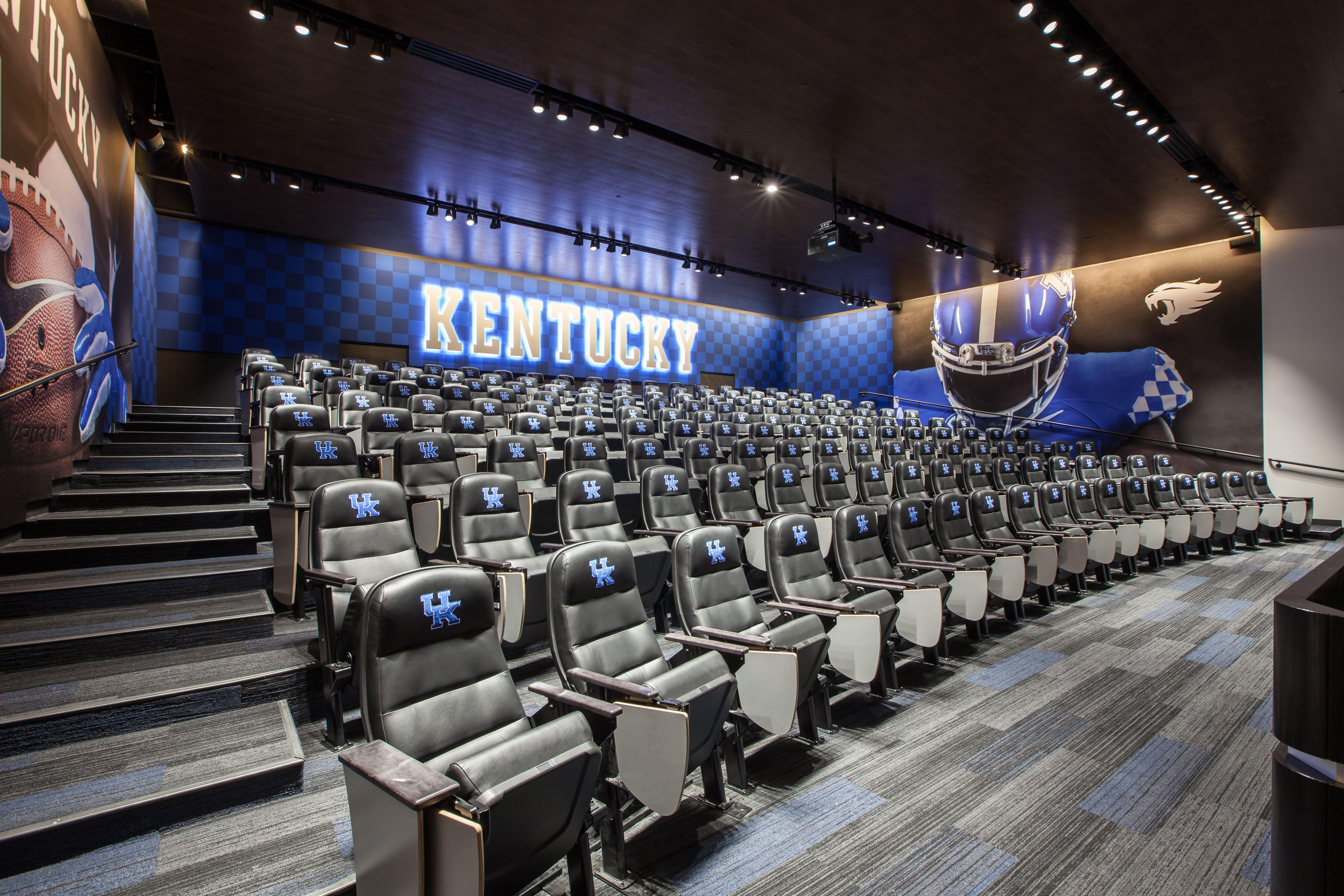 Joe Craft Football Training Facility University Of Kentucky Football Athletic Training Training Design